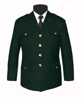 Single Breasted Honor Guard Jacket Green