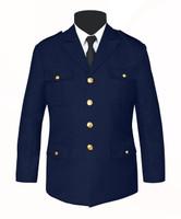Single Breasted Honor Guard Jacket Navy