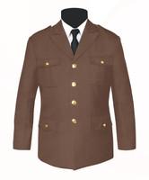 Single Breasted Honor Guard Jacket Tan
