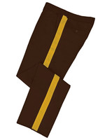 Dark Brown Honor Guard Pants w/ Gold Trim