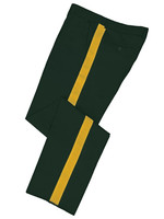 Dark Green Honor Guard Pants w/ Gold Trim