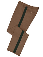 Tan Honor Guard Pants w/ Green Trim