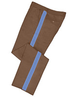 Tan Honor Guard Pants w/ Lt Blue Trim