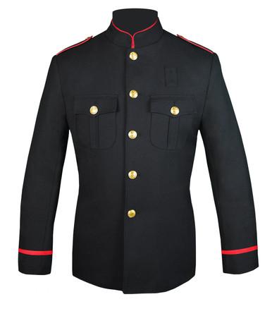 Firefighters HG Jacket w/ Flat Braid