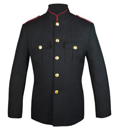 Fire Dept HG Jacket w/ Plain Sleeve