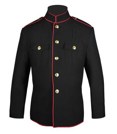 Full Trim Fire Dept HG Jacket w/ Plain Sleeves