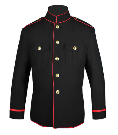 FD Honor Guard Jacket w/ Flat Braid Sleeves
