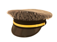 Clear Rain Cover for Police Hat