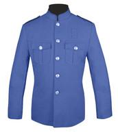 Lt Blue Honor Guard Jacket w/ Plain Sleeves