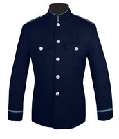 Navy and Powder Blue Trim HG Jacket