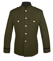 Honor Guard Jacket Olive and Black