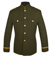 Olive and Gold Honor Guard Jacket