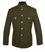 Honor Guard Coat Olive and Gold