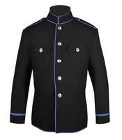 Black w/ Columbia Blue Trim HG Jacket