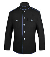 Black and Columbia Blue HG Jacket
