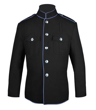 Black and Columbia Blue HG Jacket