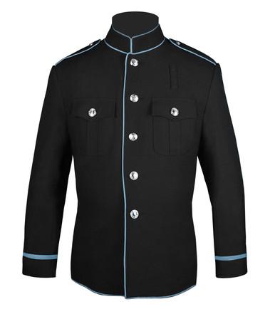 Black and Powder Blue HG Jacket