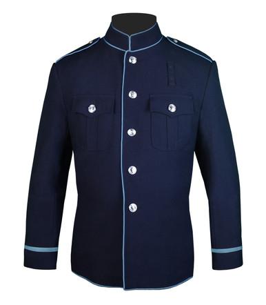 Navy and Powder Blue HG Coat