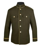Olive and Beige HG Coat