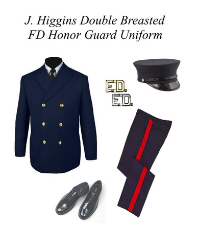 J Higgins Double Breasted FD Honor Guard Jacket