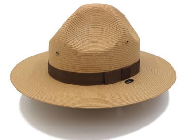 Stratton Straw Campaign Hat (Tan)