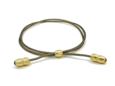 Gold and Black Campaign Cords