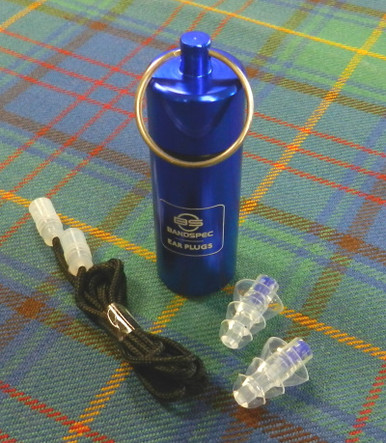 Bandspec Ear Plugs and Carrying Case
