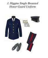 Navy Single Breasted Honor Guard Outfit