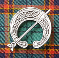 Antique Celtic Brooch