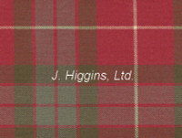 Tartan by the yard (Fraser Red Wth)