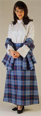 Ladies Scottish Dress