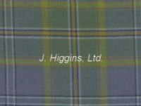 Tartan by the yard (Ireland All Blue)