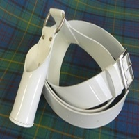 White Flag Holder Harness