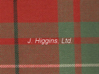 Tartan by the yard (McAuley Red Anc)
