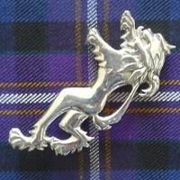 Rampant Lion Kilt Pin