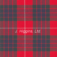 Poly/Viscous tartan by the yard (Fraser Red Mod)