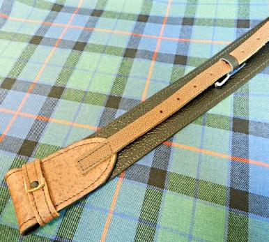 Brown Kilt Belt Back View