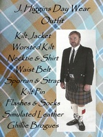 J. Higgins Day Wear Kilt Outfit