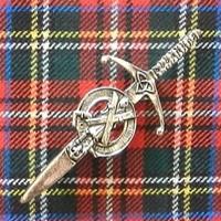 St Andrew Kilt Pin
