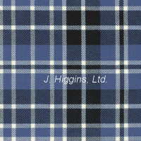 Poly/Viscous tartan by the yard (Clark Anc)