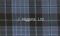 Tartan by the yard (Clergy Blue Anc)