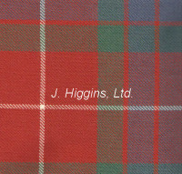Tartan by the yard (Fraser Red Anc)