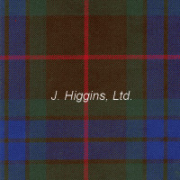 Poly/Viscous tartan by the yard (Fraser Htg Anc)