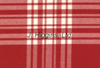 Tartan by the yard (Menzies Red & White)