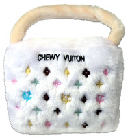 Chewy Vuiton Purse (White)