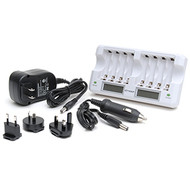 Multi-bay AA battery Charger