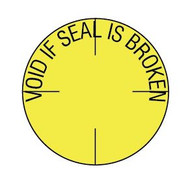 "TTP1006 3/4"" Void if Seal is Broken - Tamper Proof Seal"