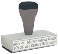 """T50 Traditional Rubber Stamp (1-1/8"""" x 3-13/16"""")"""