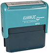 "EP12 ClassiX ECO Self-Inking Message Stamp 5/8"" x 2-5/16"""