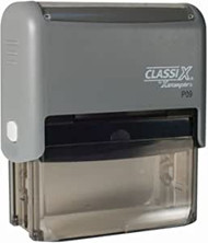 """P09 Self-Inking Message Stamp 7/8"""" x 2-1/4"""""""